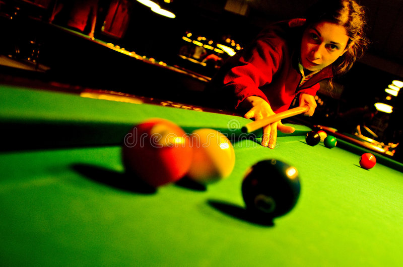 Download Pool Player Royalty Free Stock Photos - Image: 4469188