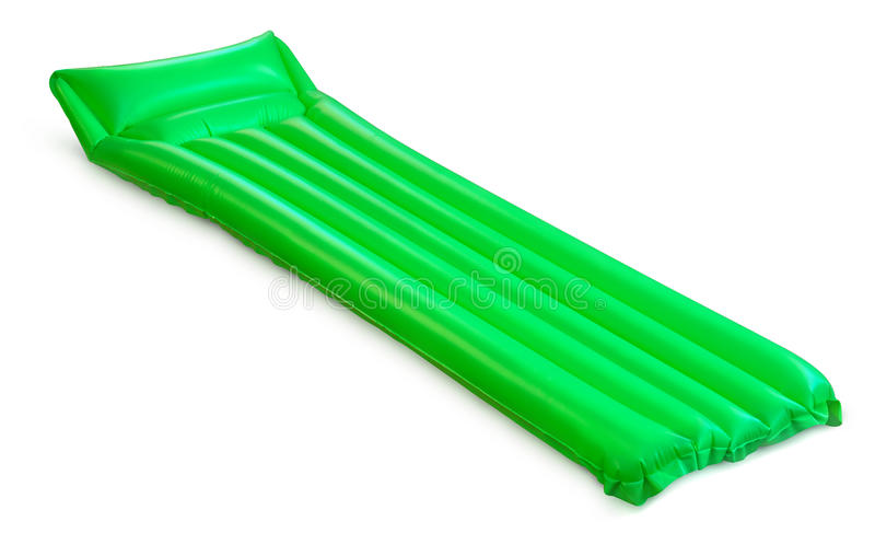 Pool raft stock image