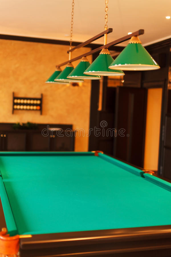 Pool room stock images