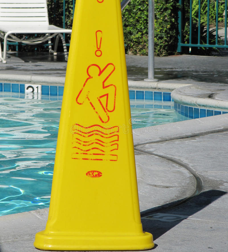 Download Pool Safety Sign Stock Image. Image Of Warning, Keyword   46560399