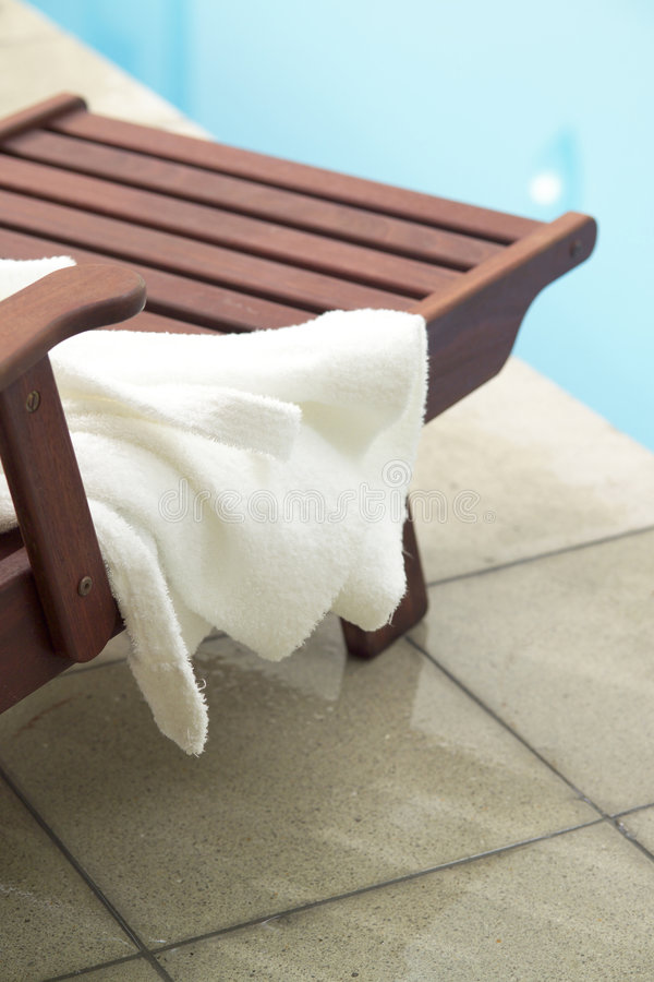 Pool side royalty free stock photos
