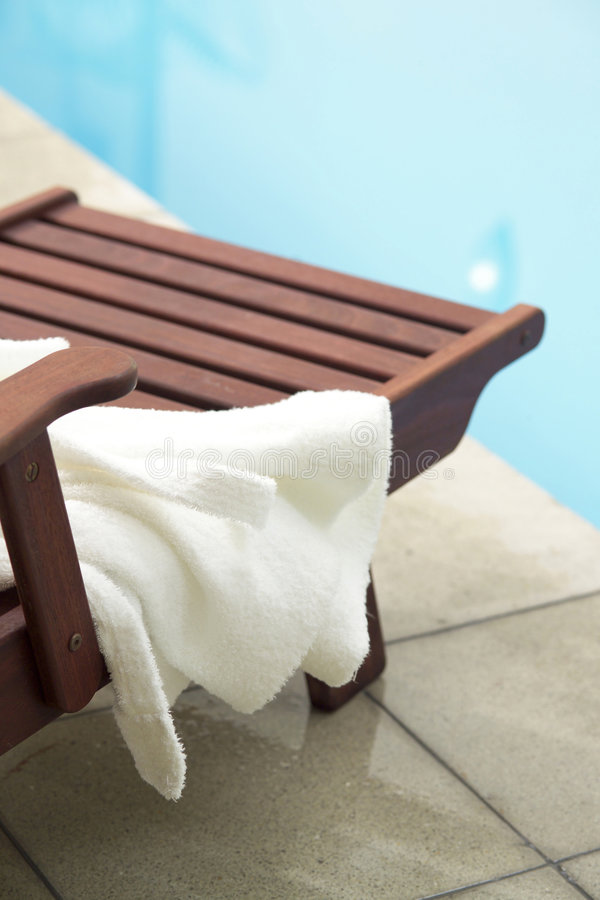 Pool Side Stock Photography