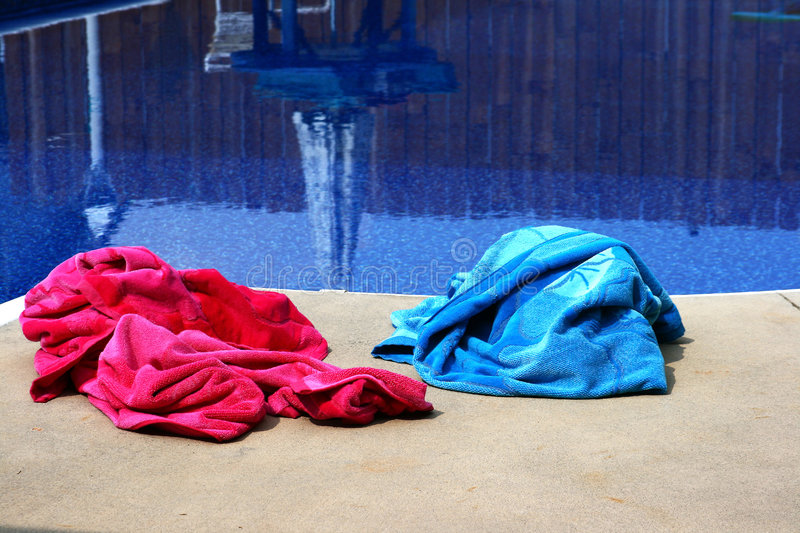 Download Pool Side stock image. Image of vertical, towel, bath - 5809927