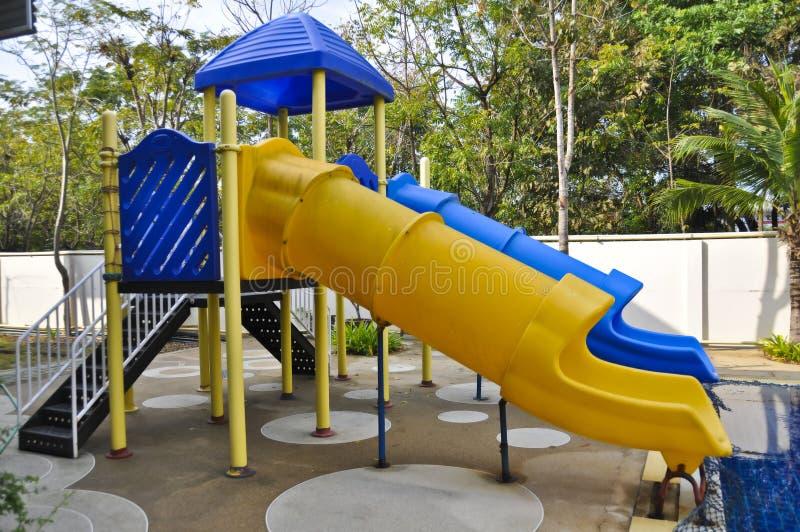 Download Pool sliders. stock photo. Image of slipway, summer, holiday - 23786166