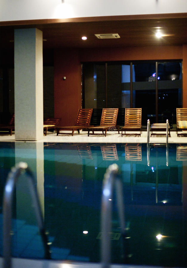 Download Pool in the spa center stock image. Image of water, chairs - 35073761