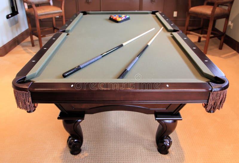 Pool-Tabelle stockbild