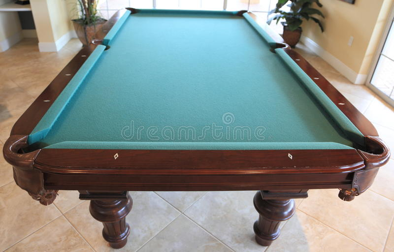 Download Pool Table stock photo. Image of billiard, triangle, green - 10608570