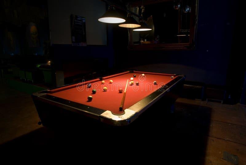 Download Pool Table stock image. Image of light, club, ball, table - 2314191