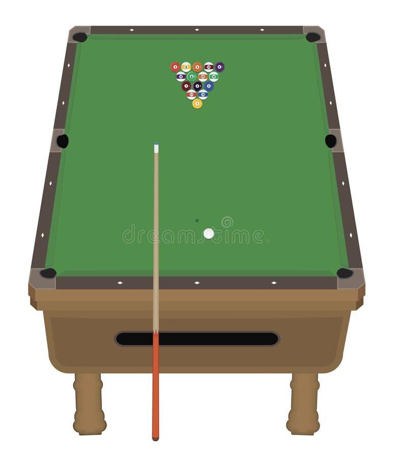 Free Pool Table Royalty Free Stock Photos - 6274328