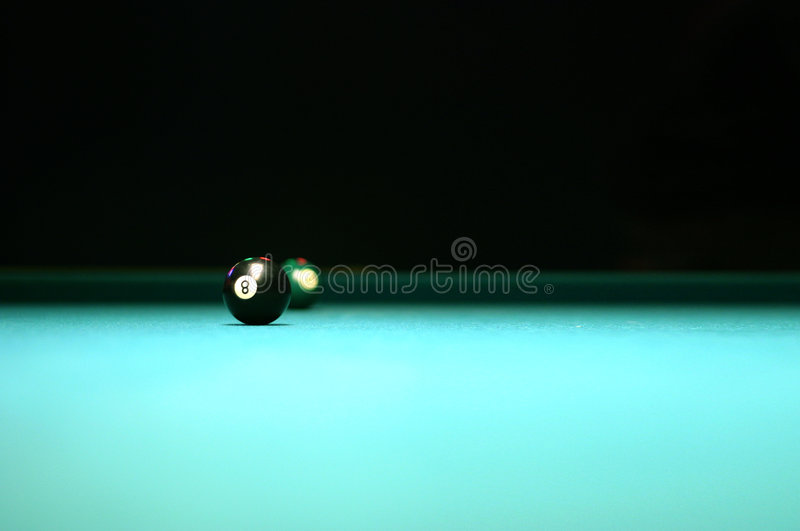 Download Pool Table 8 Ball stock image. Image of night, dark, ball - 168393