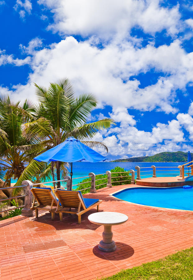 Download Pool At Tropical Beach Royalty Free Stock Photography - Image: 23974717