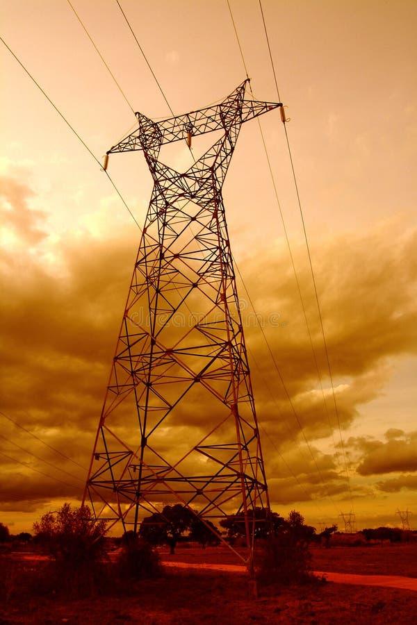 Download Pool van elektriciteit stock foto. Afbeelding bestaande uit spanning - 284162