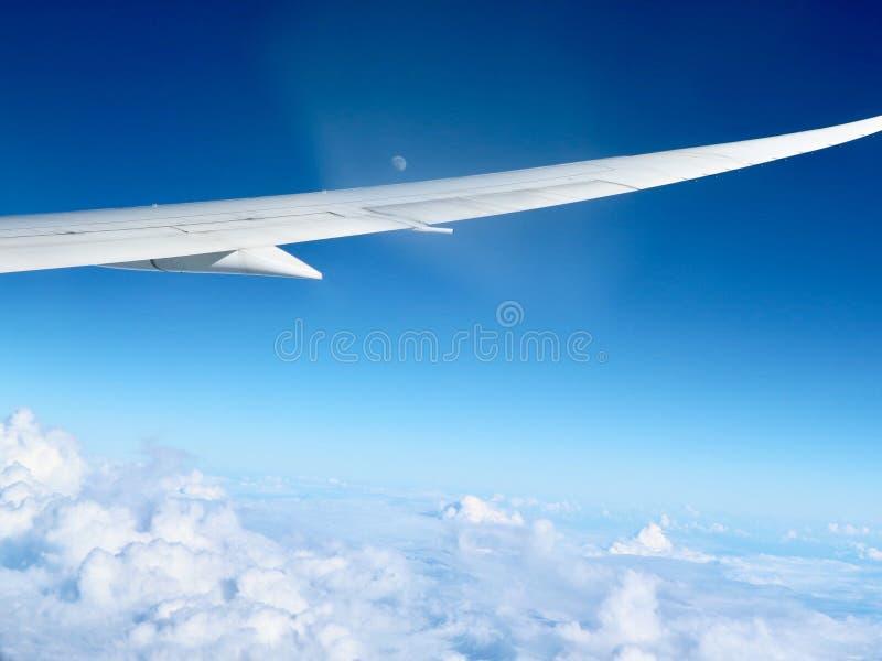Pool van wolken stock foto