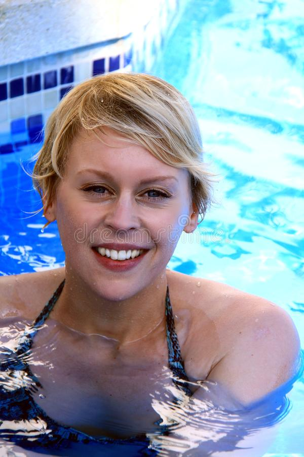 Download Swimming stock photo. Image of beauty, face, attractive - 27357312