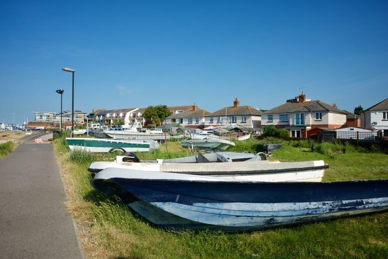 Poole多西特英国 免版税库存图片