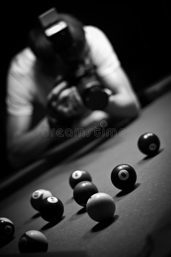 Poolfoto stockbilder