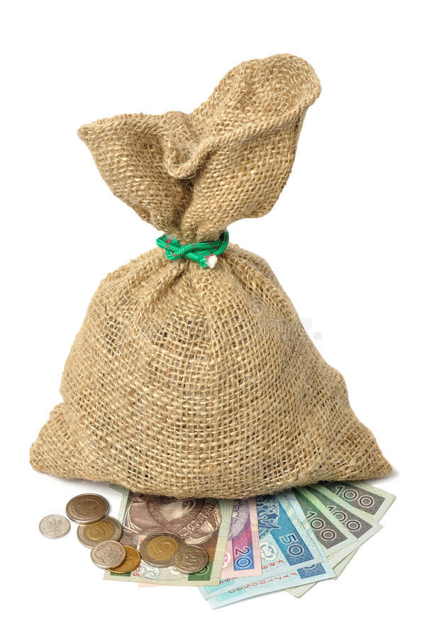 Pools geld royalty-vrije stock foto
