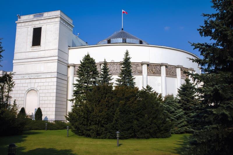 Pools Parlementsgebouw royalty-vrije stock foto's