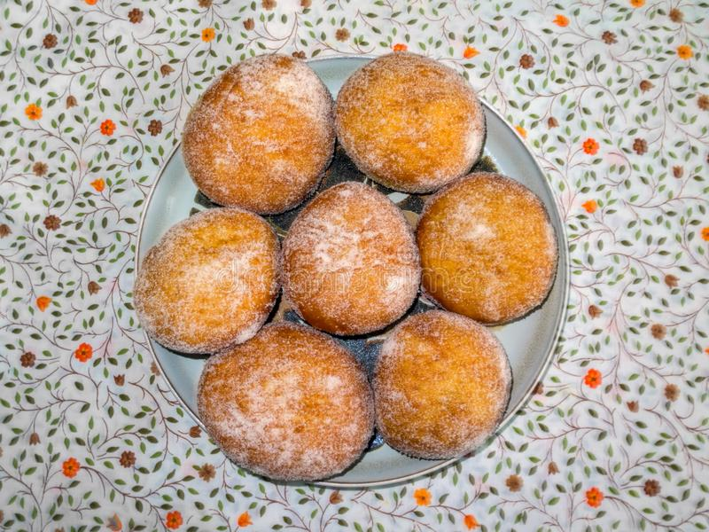 Poolse Doughnuts - czki van Polskie PÄ… stock foto