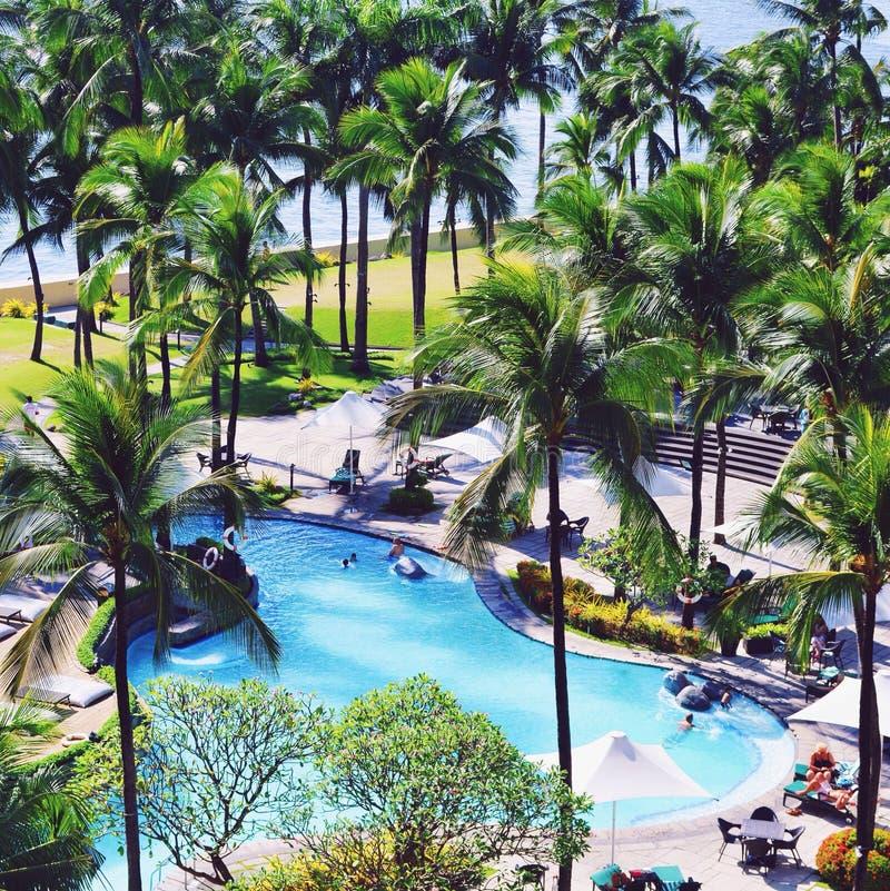 Poolside στις Φιλιππίνες στοκ εικόνες