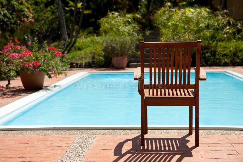 poolside zdjęcia stock
