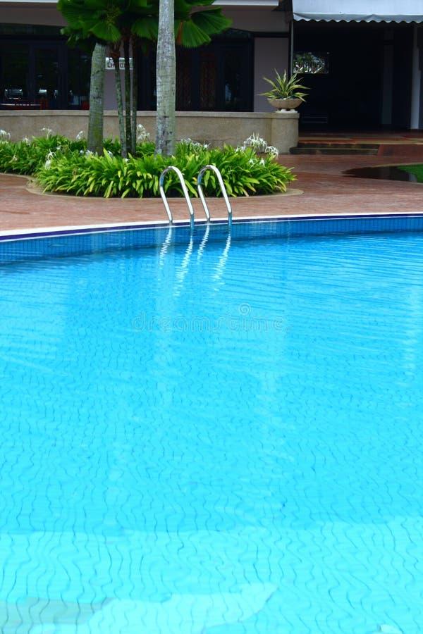 poolside royaltyfria foton
