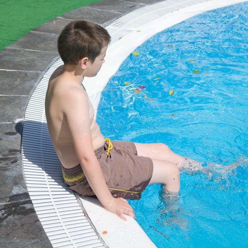poolside obraz royalty free