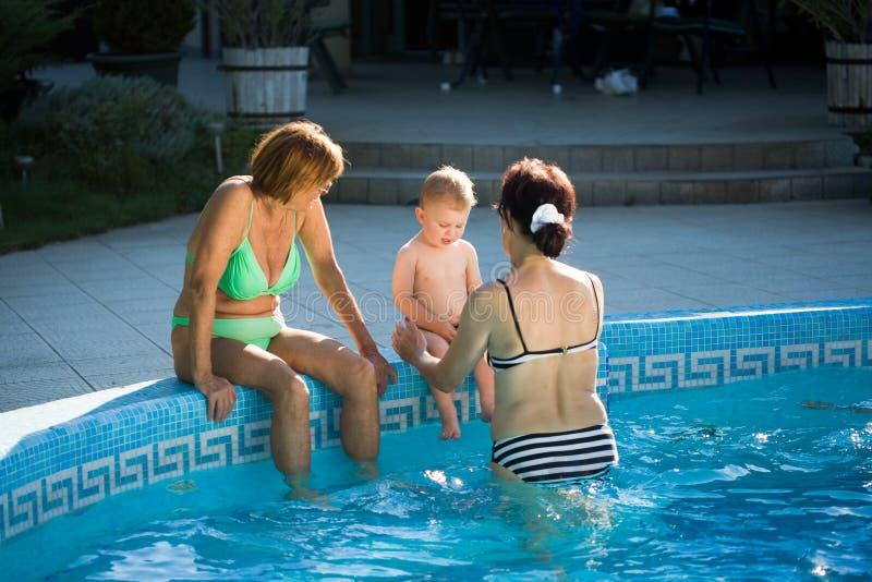 poolside zdjęcie royalty free