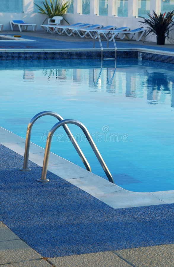 Poolside stock images