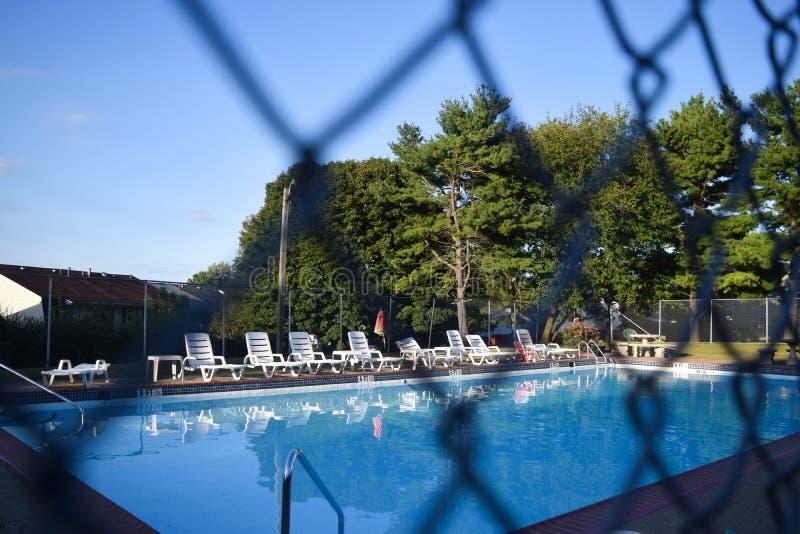 poolside image stock