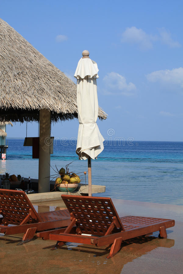 Download POOLSIDE BAR VACATION Stock Image - Image: 12690621