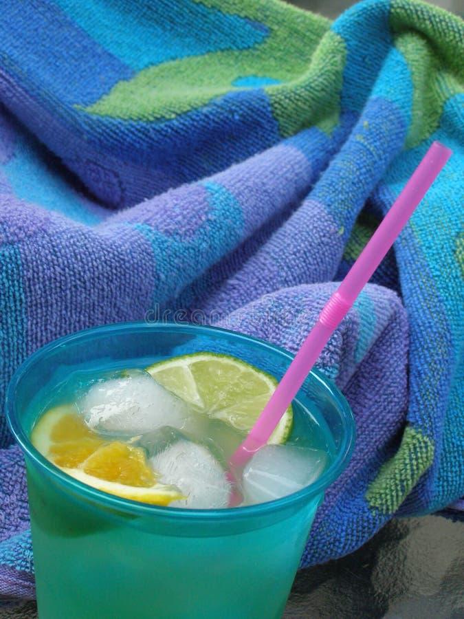 Poolside Beverage stock photos