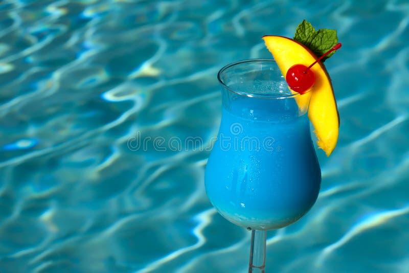 Download Poolside Blue Hawaiian stock image. Image of beach, cherry - 15011495