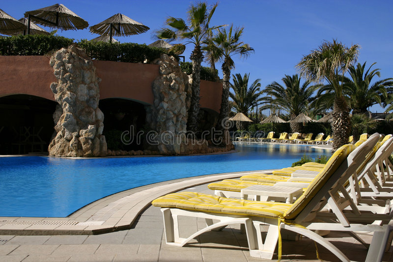 Download Poolside Resort (Landscape) Stock Photo - Image: 645514