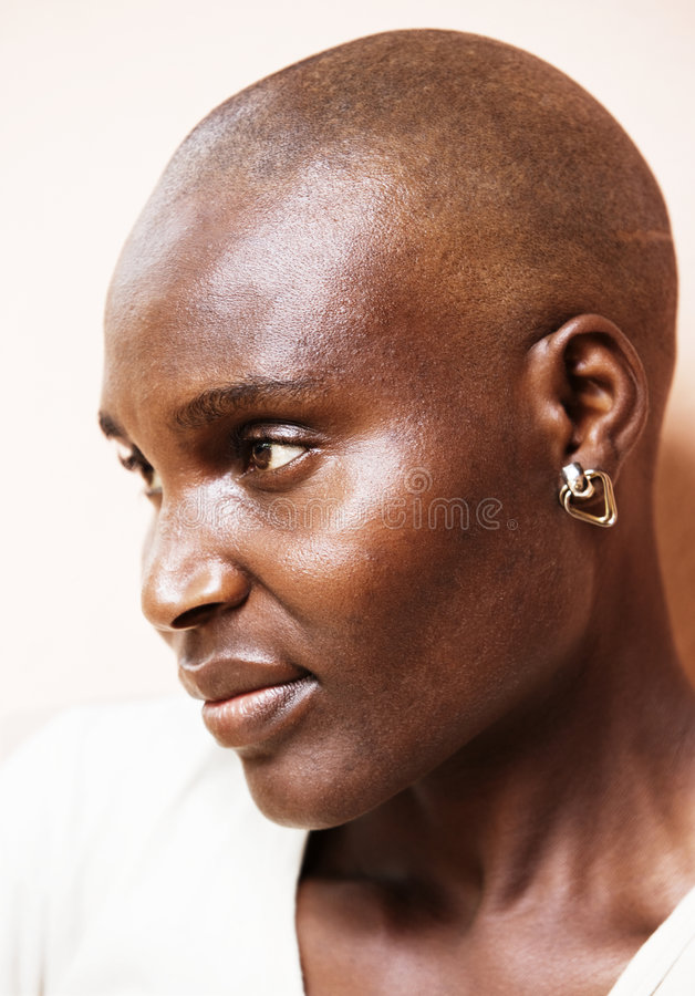 Poor African woman royalty free stock images