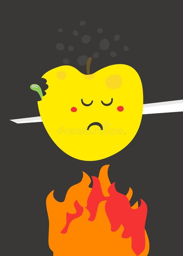 Download Poor fruit. stock vector. Image of health, diet, delicious - 34960059