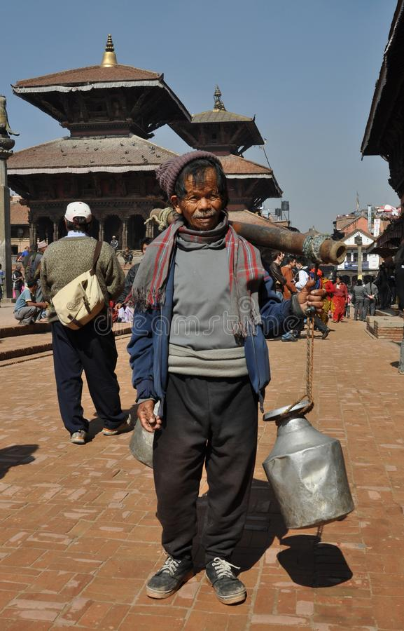 Download Poor Old Man In Patan, Nepal Editorial Photo - Image: 18482046