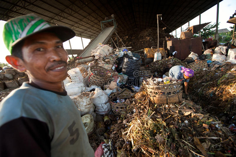 Download Poor People Working In A Scavenging At The Dump Editorial Stock Photo - Image: 25266653