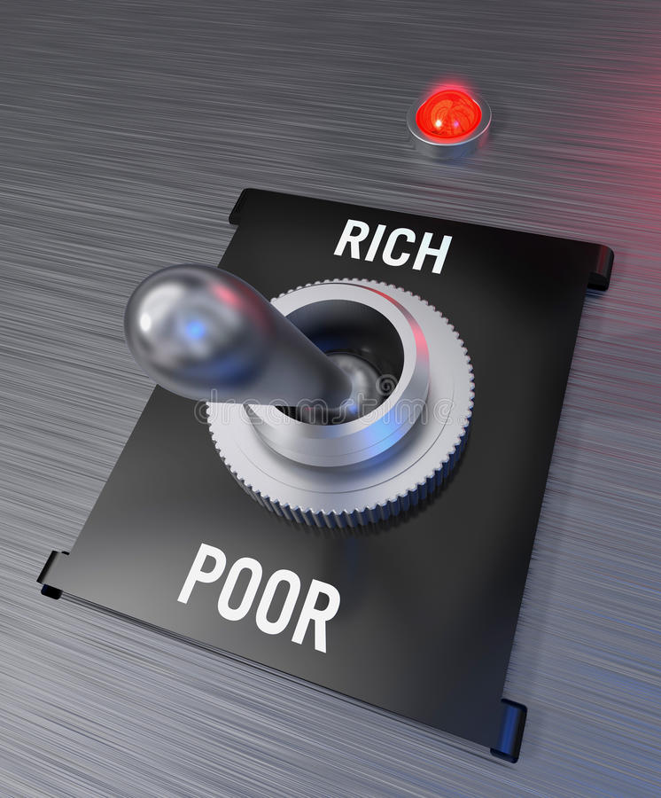 Poor Or Rich Stock Images