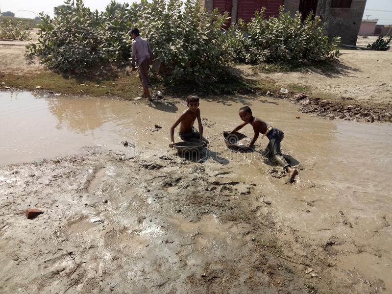 Poor Sanitary Condition. There is a very bad sanitary condition in our locality. The sweepers do not turn up for cleaning the area for days. Our complaints to stock photos