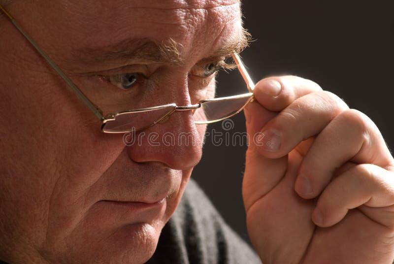 Download Poor vision stock photo. Image of people, look, elderly - 12214466