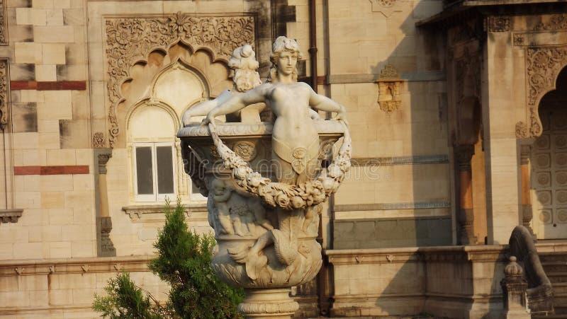 Poort aan Laxmivilash-Paleis VAdodara royalty-vrije stock fotografie