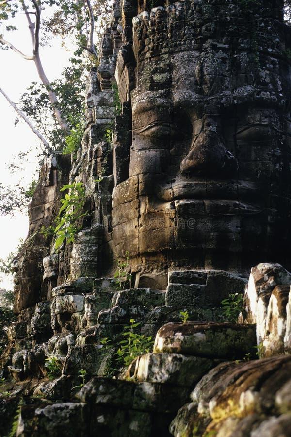 Poort Kambodja royalty-vrije stock afbeeldingen