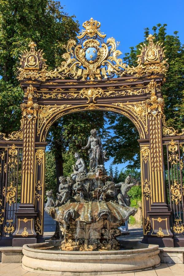 Poort Stanislas Nancy royalty-vrije stock foto