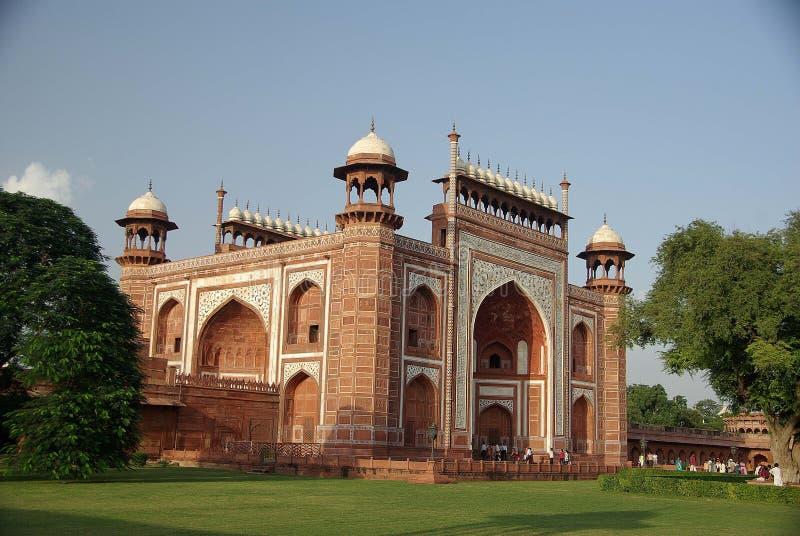 Poort van Taj Mahal, India royalty-vrije stock foto's