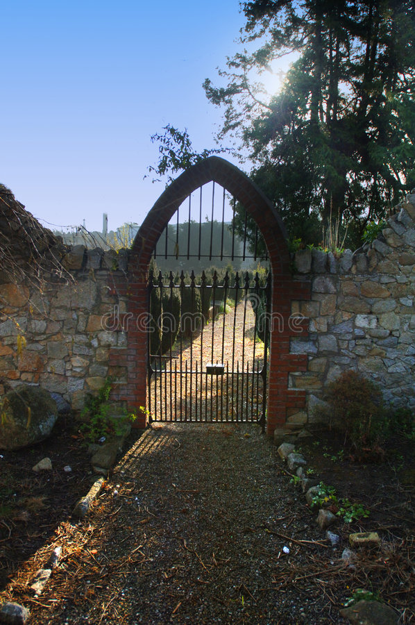 Poorten Aan Hemel Stock Afbeeldingen