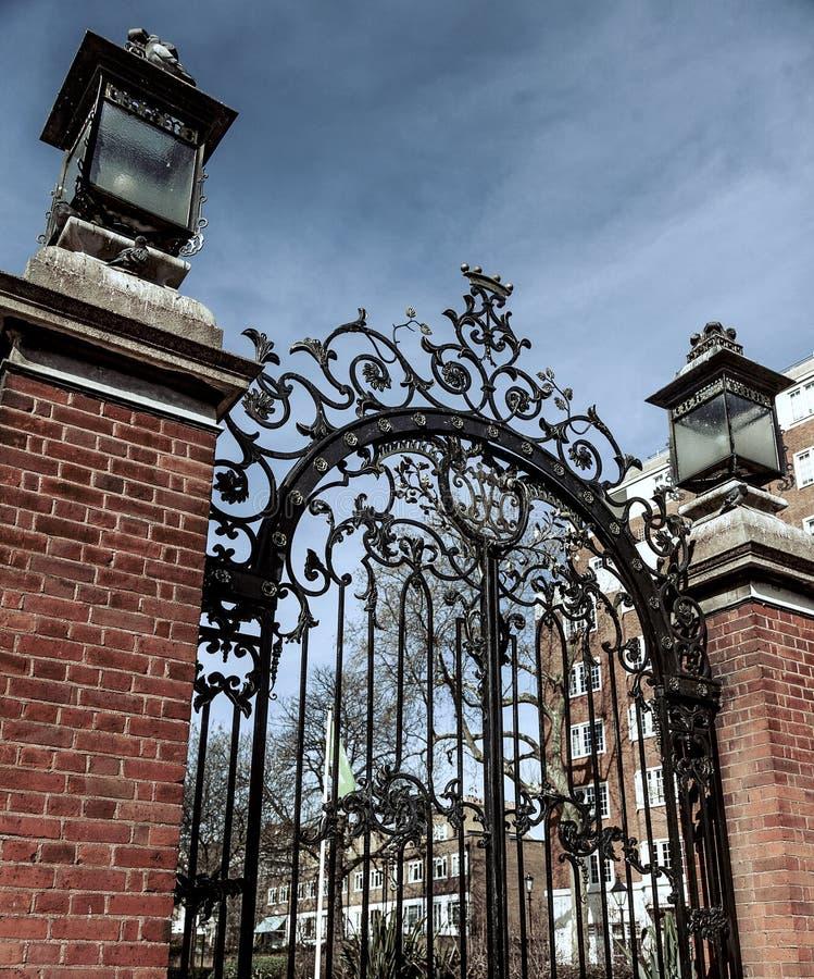 Poorten bij het Park van Holland royalty-vrije stock afbeelding