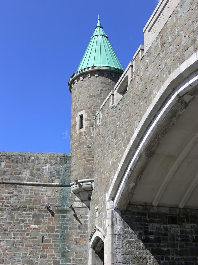 Poorten van Quebec royalty-vrije stock afbeeldingen