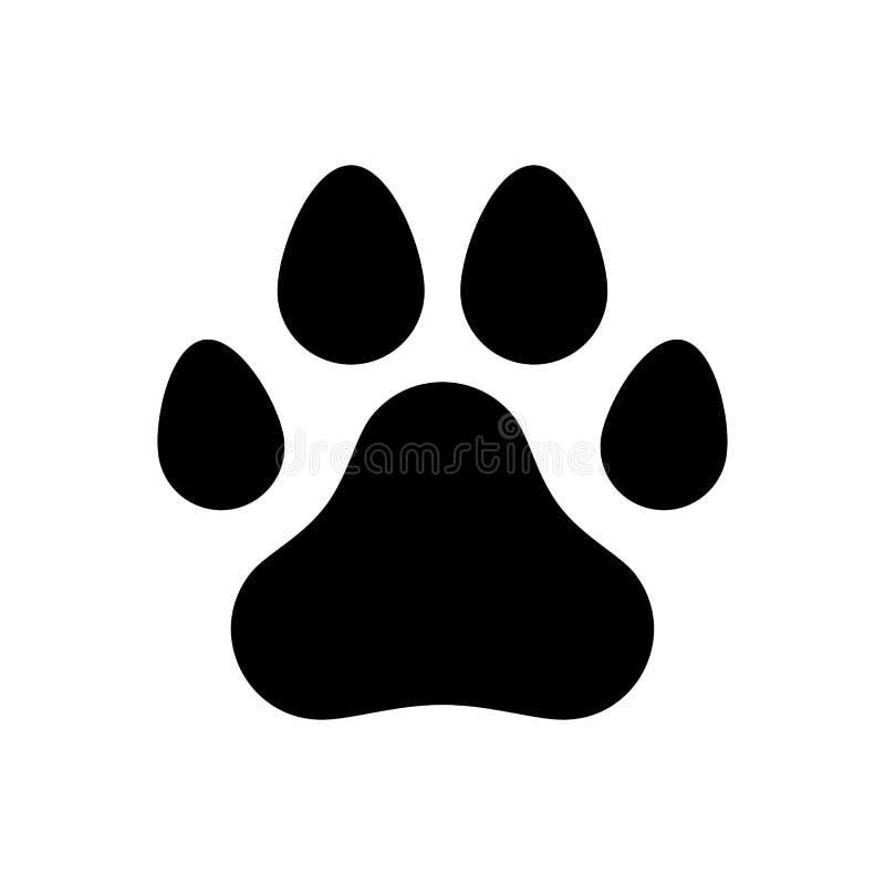 Poot van een hond royalty-vrije stock foto's