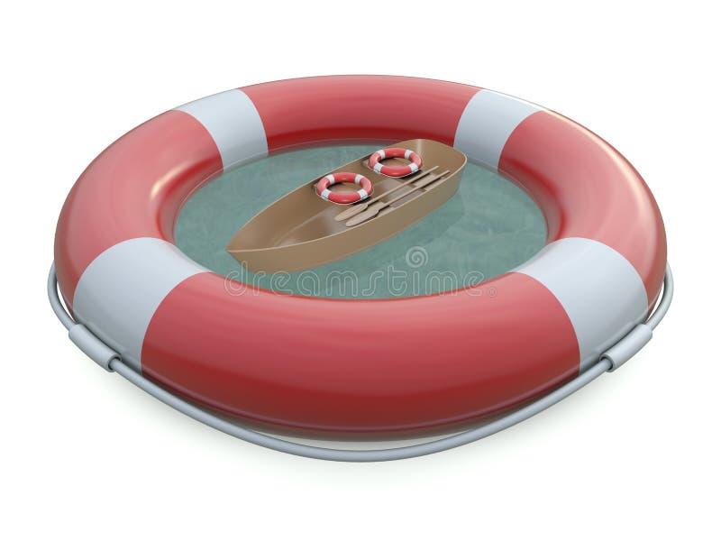 popędza łódkowatego życie sos ilustracji